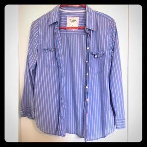 Abercrombie and fitch small button up